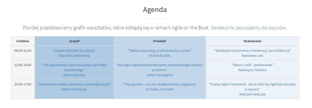 agenda_agileontheboat